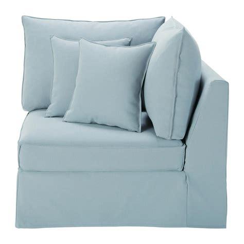 canapé angle maison du monde angle de canapé bleu gris enzo maisons du monde