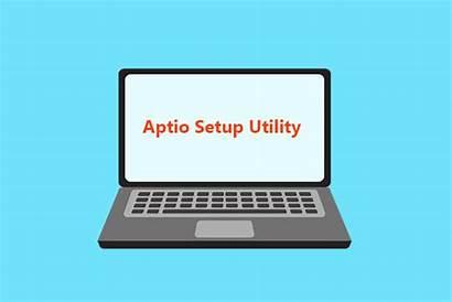 Aptio Utility Setup Asus Stuck Windows Fix