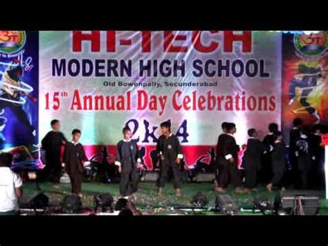 modern day high school hi tech modern high school 15th annual day celebrations part 8