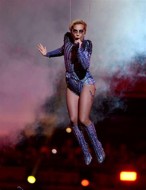 Lady Gaga Super Bowl Li Halftime Show In Houston Texas