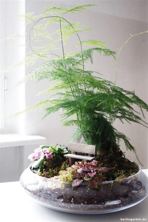 Pflanzen Für Miniaturgarten by Bank Und Beet Und Baum Ein Minigarten F 252 R Den