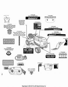 Mtd 13aj795g059  2009  Parts Diagram For Label Map Mastercut