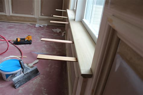 How To Make A Window Sill by Our Home From Scratch