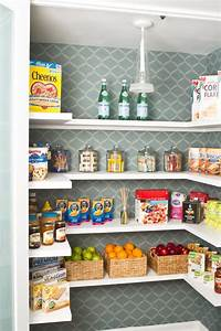 Add storage space to your kitchen with a tall pantry cabinet for How to organize your pantry shelves
