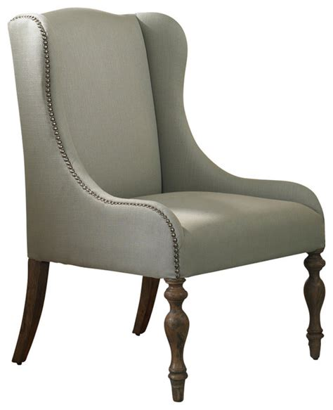 uttermost filon wing chair traditional armchairs and