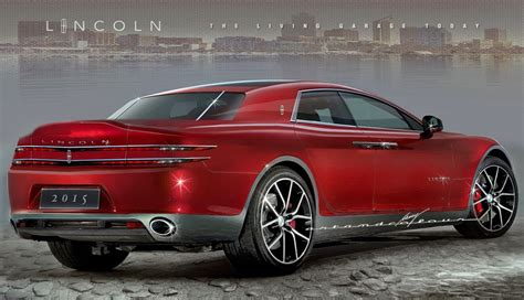 Lincoln Continental Prototype by 2017 Lincoln Continental