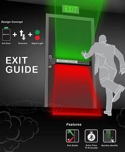 Exit Guide  U2013 Emergency Exit Door By Shang-yi Lin