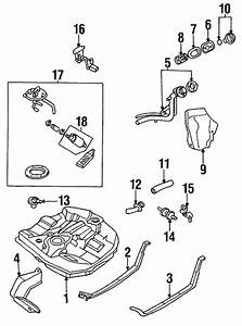 Fuel System Components For 1995 Mazda Protege