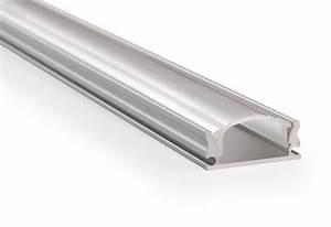 Led Profil 2m : led aluminium profile 2 meter incl mist cover 2m x 17mm x 7mm applamp ~ Eleganceandgraceweddings.com Haus und Dekorationen