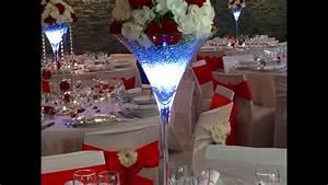Mariage Rouge Et Blanc  Th U00e8me Chic Et Diamant