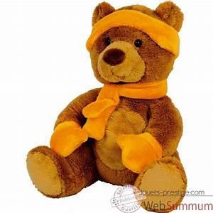 Ours En Peluche : peluche ours histoire d 39 ours dans peluches histoire d 39 ours sur jouets prestige ~ Teatrodelosmanantiales.com Idées de Décoration