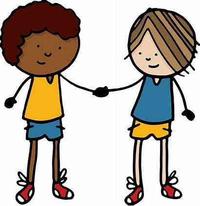 Amigos Cartoon Transparent Friends Clipart Handshake Library