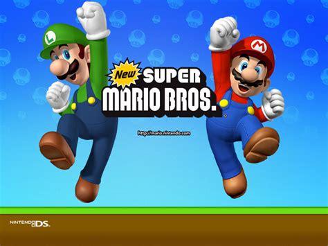 New Super Mario Bros Nintendo Ds Wallpaper 1383137