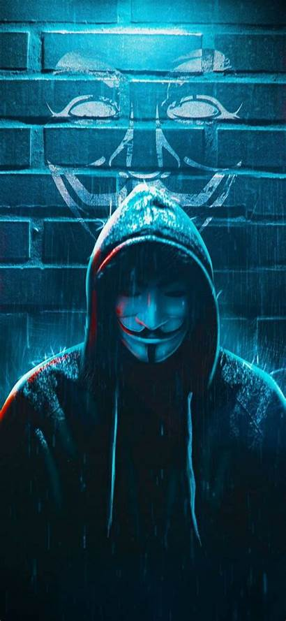 Hacker Anonymous Mask Phone 1080p Hacking Wallpapers