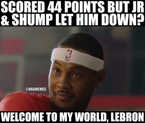 Carmelo Anthony Memes - nba memes on twitter quot carmelo anthony chimes in on the cavs http t co hf2nx0oxqp quot