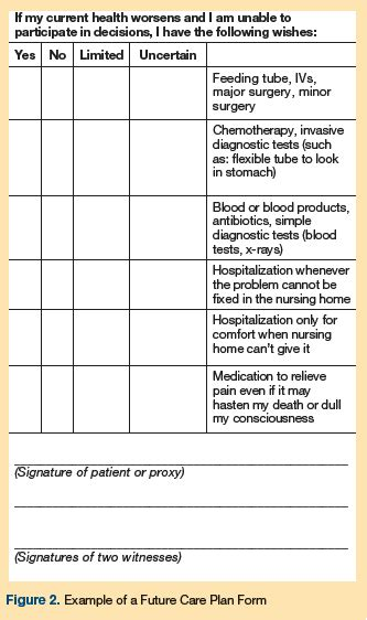 tip sheet advance care planning discussions  step
