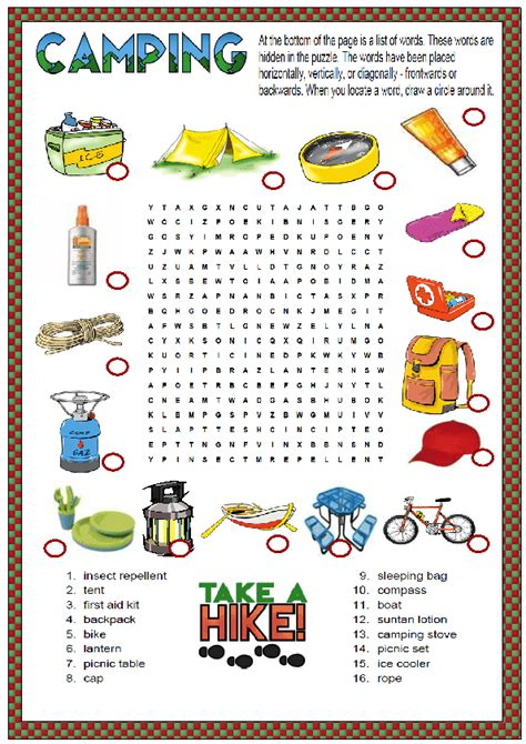 kids printables   camping diy thought