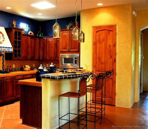 colour ideas for kitchen mexican kitchen design pictures and decorating ideas