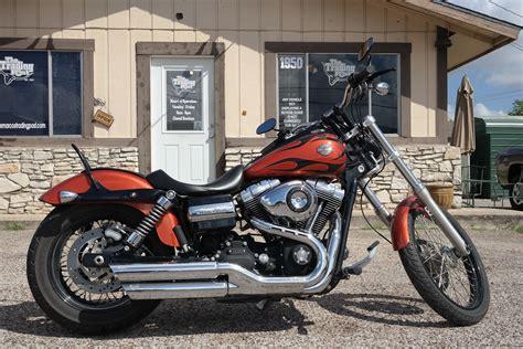 2011 Harley-davidson® Fxdwg Dyna® Wide Glide® (orange