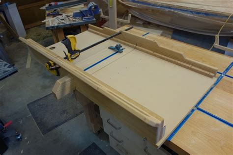 table  sled finewoodworking