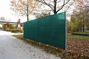 Sichtschutz Für Stabmattenzaun : sichtschutz ca 75 sichtschutznetz am zaun carport terrasse ~ Markanthonyermac.com Haus und Dekorationen