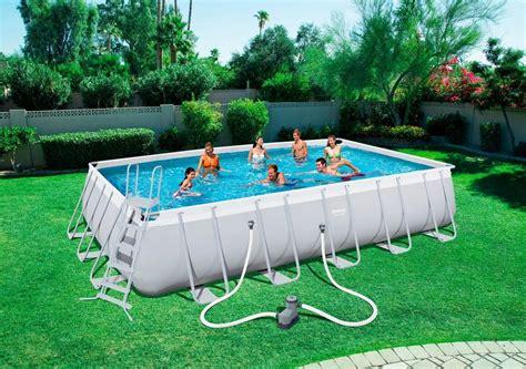 frame pool rechteckig bestway set 187 frame pool quot power steel quot 671 x 366 x 132cm rechteckig mit filterpumpe zubeh 246 r