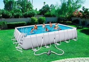 Frame Pool 366 : bestway set frame pool power steel 671 x 366 x 132cm rechteckig mit filterpumpe zubeh r ~ Eleganceandgraceweddings.com Haus und Dekorationen