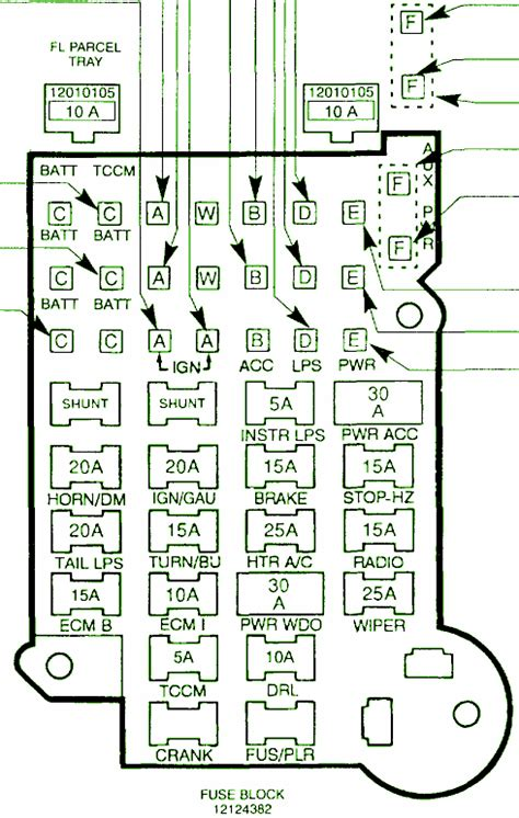 Chevy Circuit Wiring Diagrams