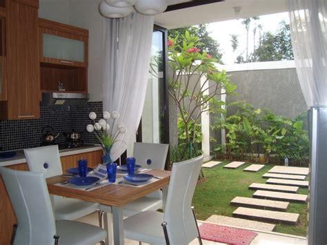 gambar desain ruang makan minimalis elegan desain