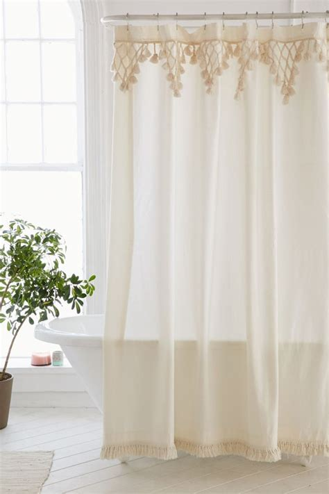 outfitters shower curtain topanga fringe shower curtain outfitters