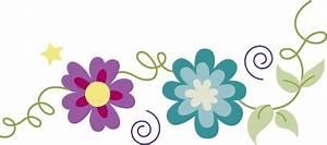 Spring Flowers Border - ClipArt Best