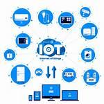 Iot Icon Internet Device Objets Clip Premium