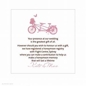 wedding gift registry wording gift ftempo With wedding invitations wording about gifts
