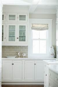 gray subway tile backsplash transitional kitchen With kitchen colors with white cabinets with subway wall art