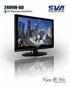 Sva Computer Monitor 2400w