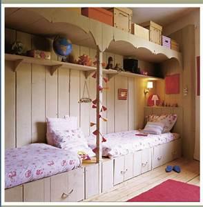 bien amenager une petite chambre d ado 3 d233co chambre With diviser une chambre en deux
