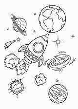 Coloring Pages Galaxy Space Sheet Planet Printable Adult Sheets Print Books Bestcoloringpagesforkids Rocket Worksheets sketch template