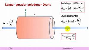 Elektrisches Feld Berechnen : felder satz von gauss beim elektrischen feld youtube ~ Themetempest.com Abrechnung