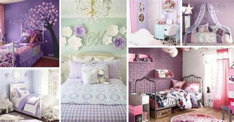 unique purple bedroom ideas  teenage girl decor