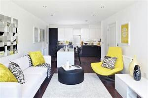 Contemporary Home Design With A Dash Of Yellow