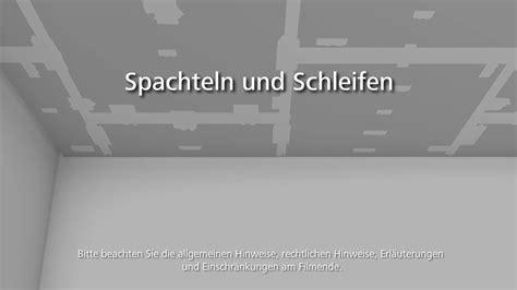 Wände Verspachteln Und Streichen by Akustikdecke Stosilent Distance 05 Spachteln Und