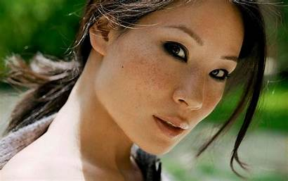 Asian Actresses Wallpapers Japanese Lucy Liu Female
