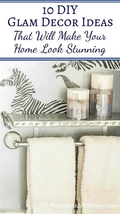 diy glam decor ideas     home  stunning