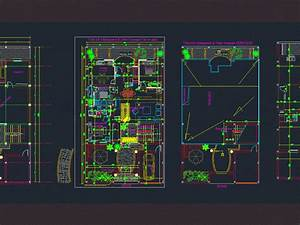 How To Plan Lighting For A House Villa House Mme Salwa Tunisia Dwg Block For Autocad