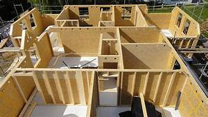 technique de construction maison ossature bois boismaison With maquette d une maison 13 ossature bois
