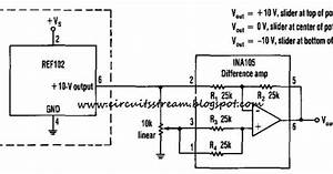 Simple Positive And Negative Voltage Power Supply Wiring Diagram Schematic