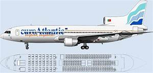 Atlantic 747 Seating Chart Euro Atlantic Seating Chart L1011 Aircraft Pinterest