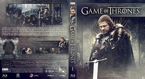 game  thrones season  bluray cover cover addict
