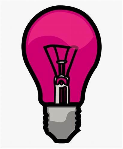 Pink Bulb Clipart Clip