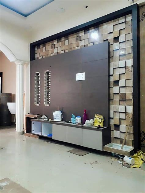 Wall Units For Living Room India by Karan Jangid Lcdunit Side View Tv Unit Designs Lcd